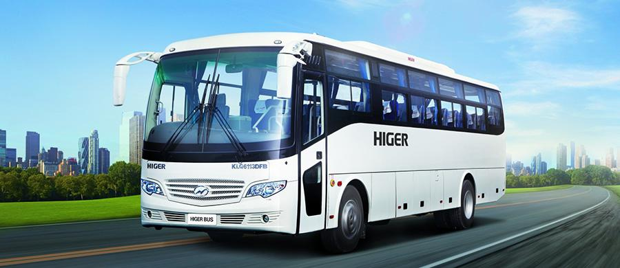 Higer Luxury Coach KLQ6113DFB