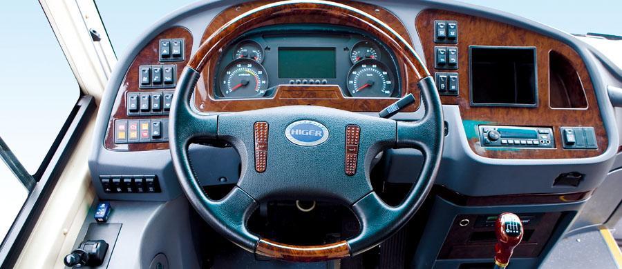 Higer Luxury Coach KLQ6125Q