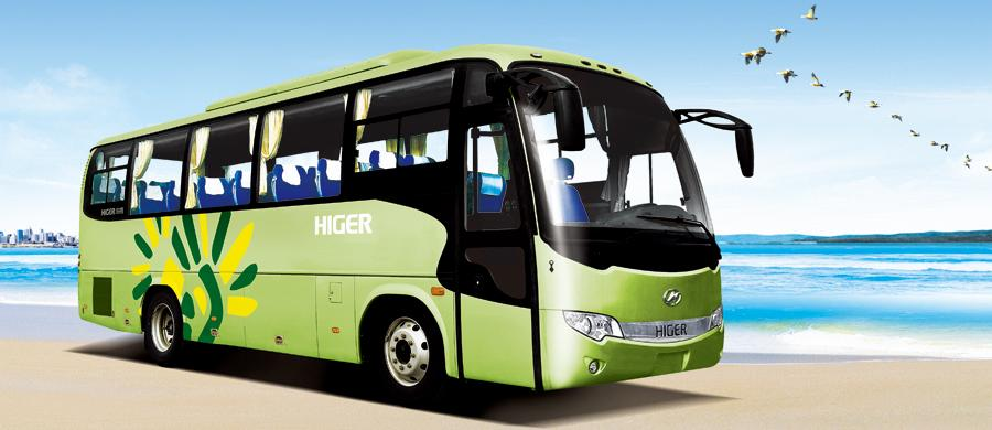 Higer Luxury Coach KLQ6896