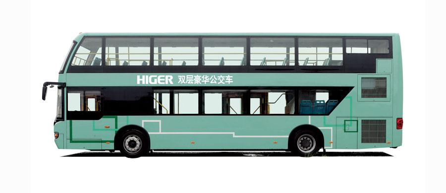Higer Economy Coach KLQ6119GS Double-deck